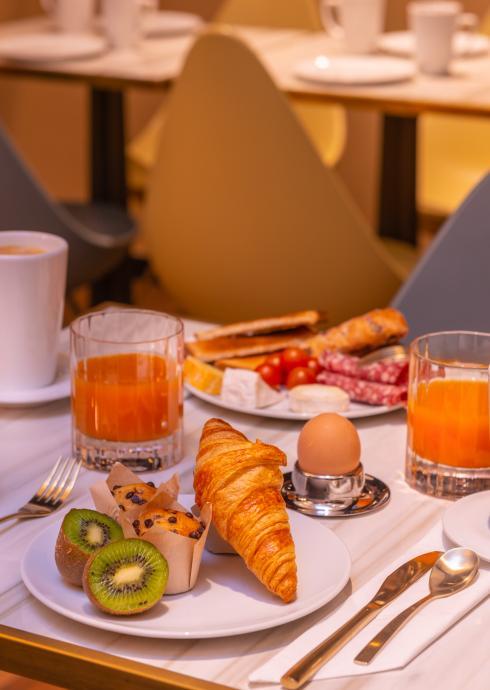 Hôtel de Noailles - petit déjeuner